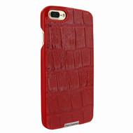 Piel Frama 768 Red Wild Crocodile FramaSlimGrip Leather Case for Apple iPhone 7 Plus