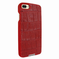 Piel Frama 768 Red Wild Crocodile FramaSlimGrip Leather Case for Apple iPhone 7 Plus / 8 Plus