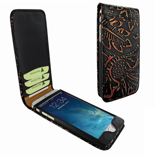 Piel Frama 761 Black Nspire Classic Magnetic Leather Case for Apple iPhone 7 / 8
