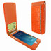 Piel Frama 766 Orange Swarovski Crocodile Classic Magnetic Leather Case for Apple iPhone 7 Plus / 8 Plus