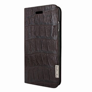Piel Frama 762 Brown Wild Crocodile FramaSlimCards Leather Case for Apple iPhone 7 / 8