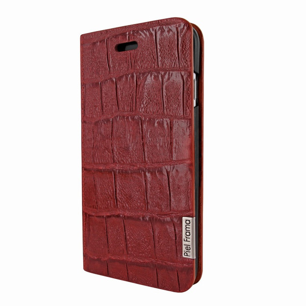 Piel Frama 762 Red Wild Crocodile FramaSlimCards Leather Case for Apple iPhone 7 / 8