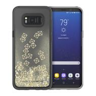 Samsung Galaxy S8 Plus Incipio Rebecca Minkoff Glitterfall Case - Gold Studs