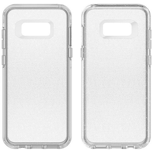 Samsung Galaxy S8 Plus Otterbox Symmetry Clear Case - Stardust Silver Flake And Clear