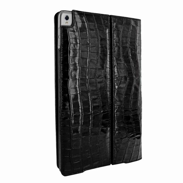 "Piel Frama 786 Black Crocodile Cinema Magnetic Leather Case for Apple iPad Pro 10.5"""