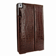 Piel Frama 786 Brown Crocodile Cinema Magnetic Leather Case for Apple iPad Pro 10.5""