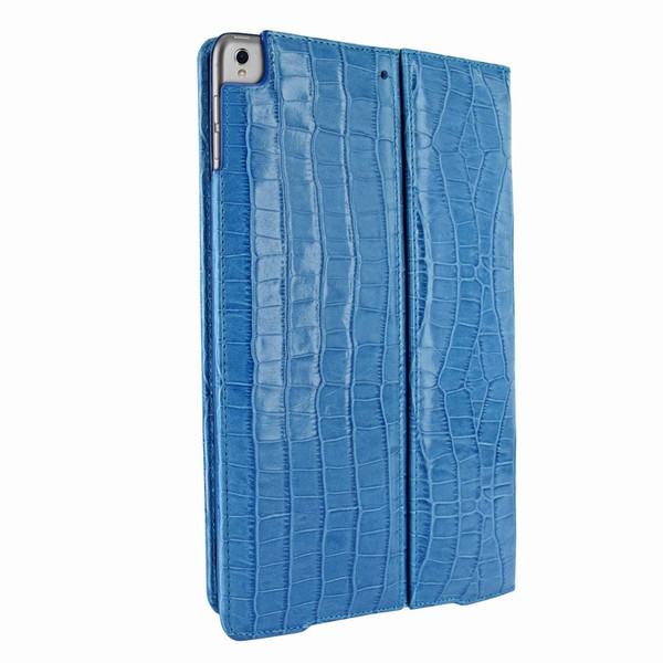 Piel Frama 786 Blue Crocodile Cinema Magnetic Leather Case for Apple iPad Pro 10.5""
