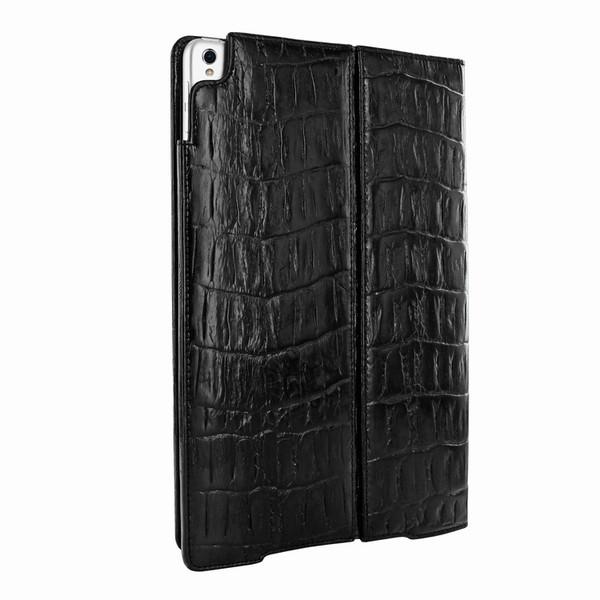 "Piel Frama 786 Black Wild Crocodile Cinema Magnetic Leather Case for Apple iPad Pro 10.5"""