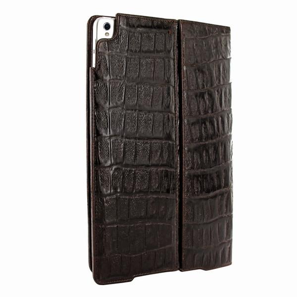 "Piel Frama 786 Brown Wild Crocodile Cinema Magnetic Leather Case for Apple iPad Pro 10.5"""