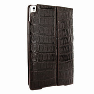 Piel Frama 786 Brown Wild Crocodile Cinema Magnetic Leather Case for Apple iPad Pro 10.5""