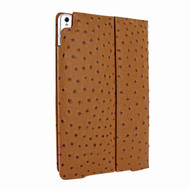 Piel Frama 786 Tan Ostrich Cinema Magnetic Leather Case for Apple iPad Pro 10.5""