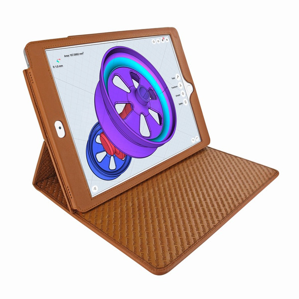 "Piel Frama 789 Tan Cinema Magnetic Leather Case for Apple iPad Pro 12.9"" (2017)"