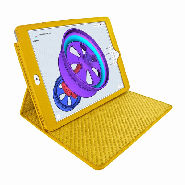 "Piel Frama 789 Yellow Cinema Magnetic Leather Case for Apple iPad Pro 12.9"" (2017)"