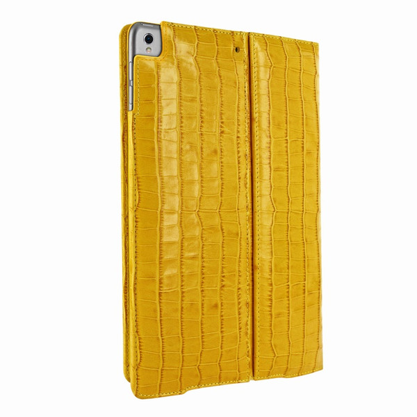"Piel Frama 789 Yellow Crocodile Cinema Magnetic Leather Case for Apple iPad Pro 12.9"" (2017)"