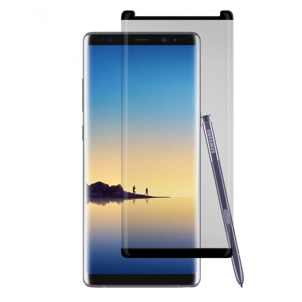 Gadget Guard - Black Ice Cornice Curved Glass Screen Protector for Samsung Galaxy Note 8 - Clear