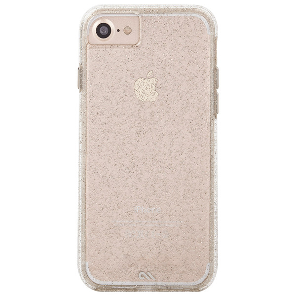 Apple iPhone 6  /  iPhone 6s  /  iPhone 7  /  iPhone 8 Case-mate Sheer Glam Case - Champagne