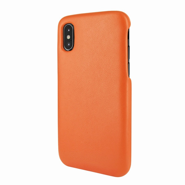 new concept e039e 8a4f1 Piel Frama 791 Orange FramaSlimGrip Leather Case for Apple iPhone X / Xs