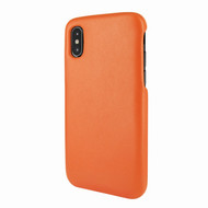 Piel Frama 791 Orange FramaSlimGrip Leather Case for Apple iPhone X