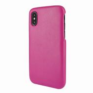 Piel Frama 791 Pink FramaSlimGrip Leather Case for Apple iPhone X