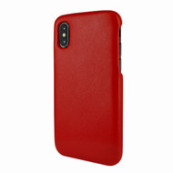 Piel Frama 791 Red FramaSlimGrip Leather Case for Apple iPhone X