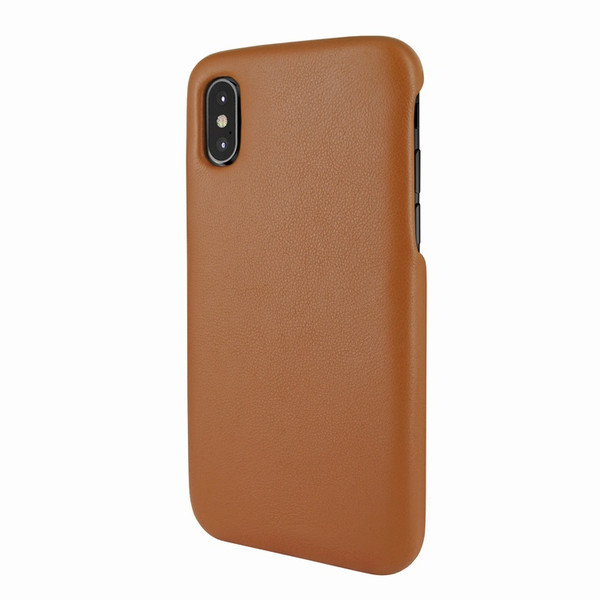 Piel Frama 791 Tan FramaSlimGrip Leather Case for Apple iPhone X / Xs