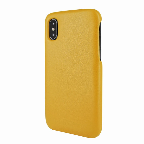 Piel Frama 791 Yellow FramaSlimGrip Leather Case for Apple iPhone X / Xs