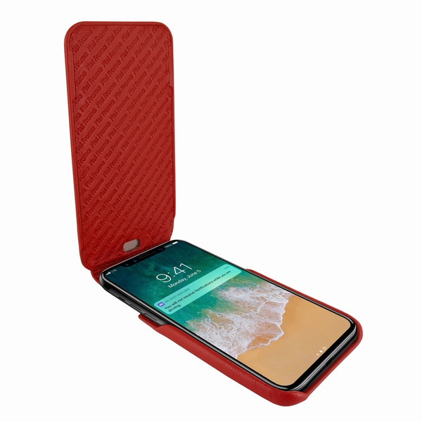 Piel Frama 792 Red iMagnum Leather Case for Apple iPhone X