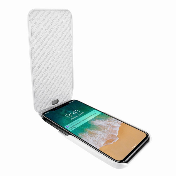 Piel Frama 792 White iMagnum Leather Case for Apple iPhone X