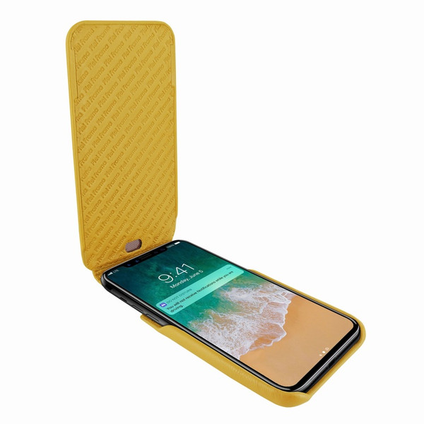Piel Frama 792 Yellow iMagnum Leather Case for Apple iPhone X / Xs