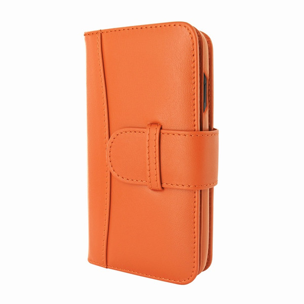 Piel Frama 793 Orange WalletMagnum Leather Case for Apple iPhone X / Xs