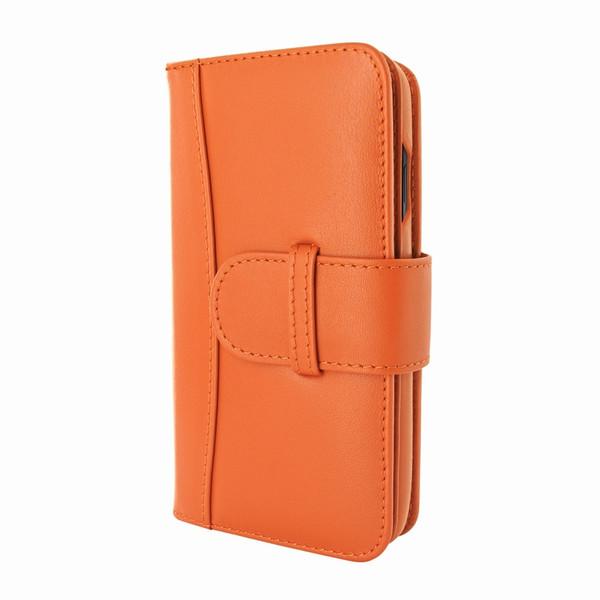 Piel Frama 793 Orange WalletMagnum Leather Case for Apple iPhone X / Xs