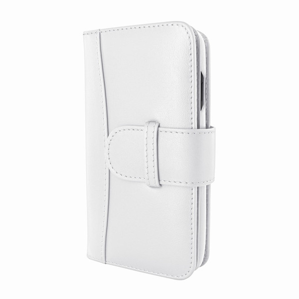 Piel Frama 793 White WalletMagnum Leather Case for Apple iPhone X / Xs