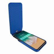 Piel Frama 792 Blue Crocodile iMagnum Leather Case for Apple iPhone X