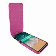 Piel Frama 792 Pink Crocodile iMagnum Leather Case for Apple iPhone X