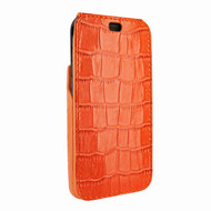 Piel Frama 792 Orange Crocodile iMagnum Leather Case for Apple iPhone X / Xs