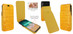 Piel Frama 792 Yellow Crocodile iMagnum Leather Case for Apple iPhone X / Xs