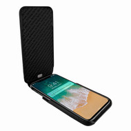 Piel Frama 792 Black Ostrich iMagnum Leather Case for Apple iPhone X