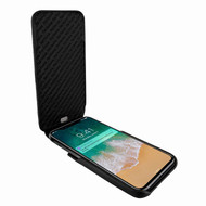 Piel Frama 792 Black Lizard iMagnum Leather Case for Apple iPhone X