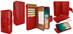 Piel Frama 793 Red Crocodile WalletMagnum Leather Case for Apple iPhone X / Xs