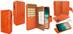 Piel Frama 793 Orange Crocodile WalletMagnum Leather Case for Apple iPhone X / Xs
