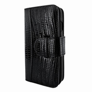 Piel Frama 793 Black Lizard WalletMagnum Leather Case for Apple iPhone X