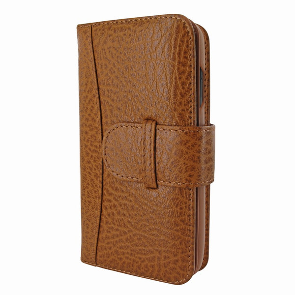 Piel Frama 793 Tan Karabu WalletMagnum Leather Case for Apple iPhone X / Xs