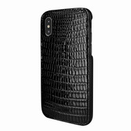 Piel Frama 791 Black Lizard FramaSlimGrip Leather Case for Apple iPhone X