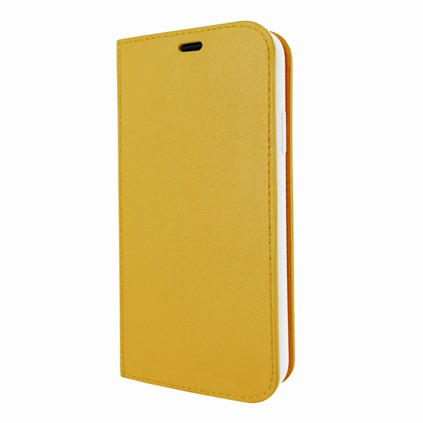Piel Frama 799 Yellow FramaSlimCards Leather Case for Apple iPhone X / Xs