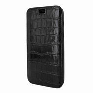 Piel Frama 794 Black Crocodile Emporium Leather Case for Apple iPhone X / Xs