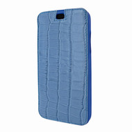Piel Frama 794 Blue Crocodile Emporium Leather Case for Apple iPhone X / Xs