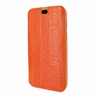 Piel Frama 794 Orange Crocodile Emporium Leather Case for Apple iPhone X / Xs