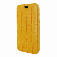 Piel Frama 794 Yellow Crocodile Emporium Leather Case for Apple iPhone X / Xs