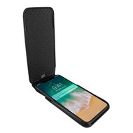 Piel Frama 792 Black Karabu iMagnum Leather Case for Apple iPhone X