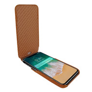 Piel Frama 792 Tan Karabu iMagnum Leather Case for Apple iPhone X
